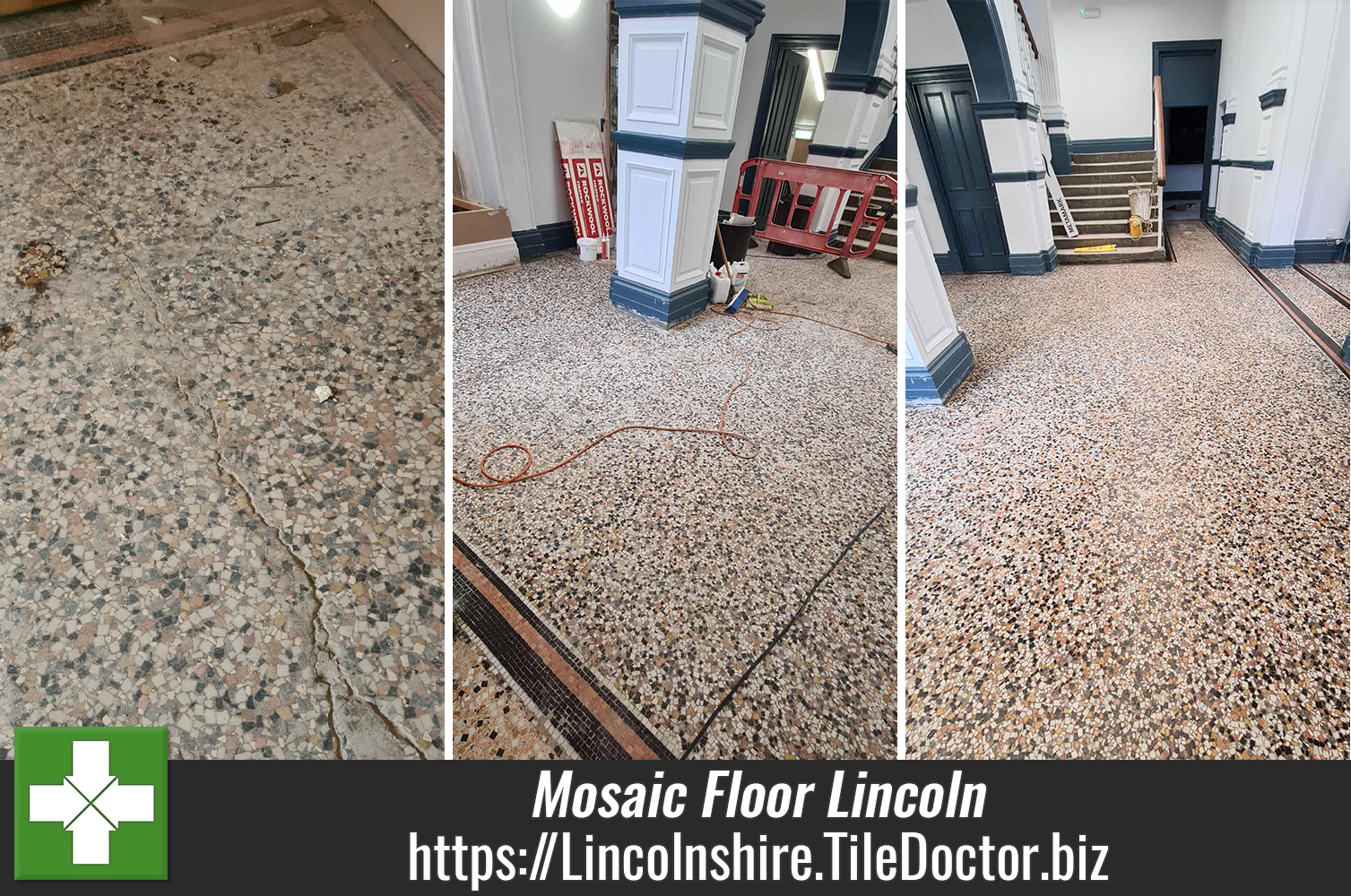 Mosaic-Tiled-Floor-Before-and-After-Restoration-Lincoln-College
